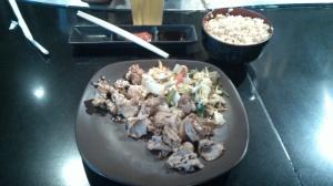 Menu Beef Chicken Ginza Teppan Bento