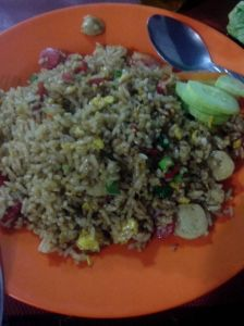 Nasi Goreng Baso Sosis Hidayat