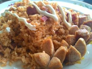 Nasi Goreng Sosis Ige Lanca